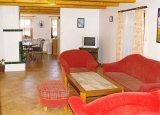 Obývací pokoj, jídelna + kuchyně