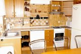 Kuchyně + jídelní stůl